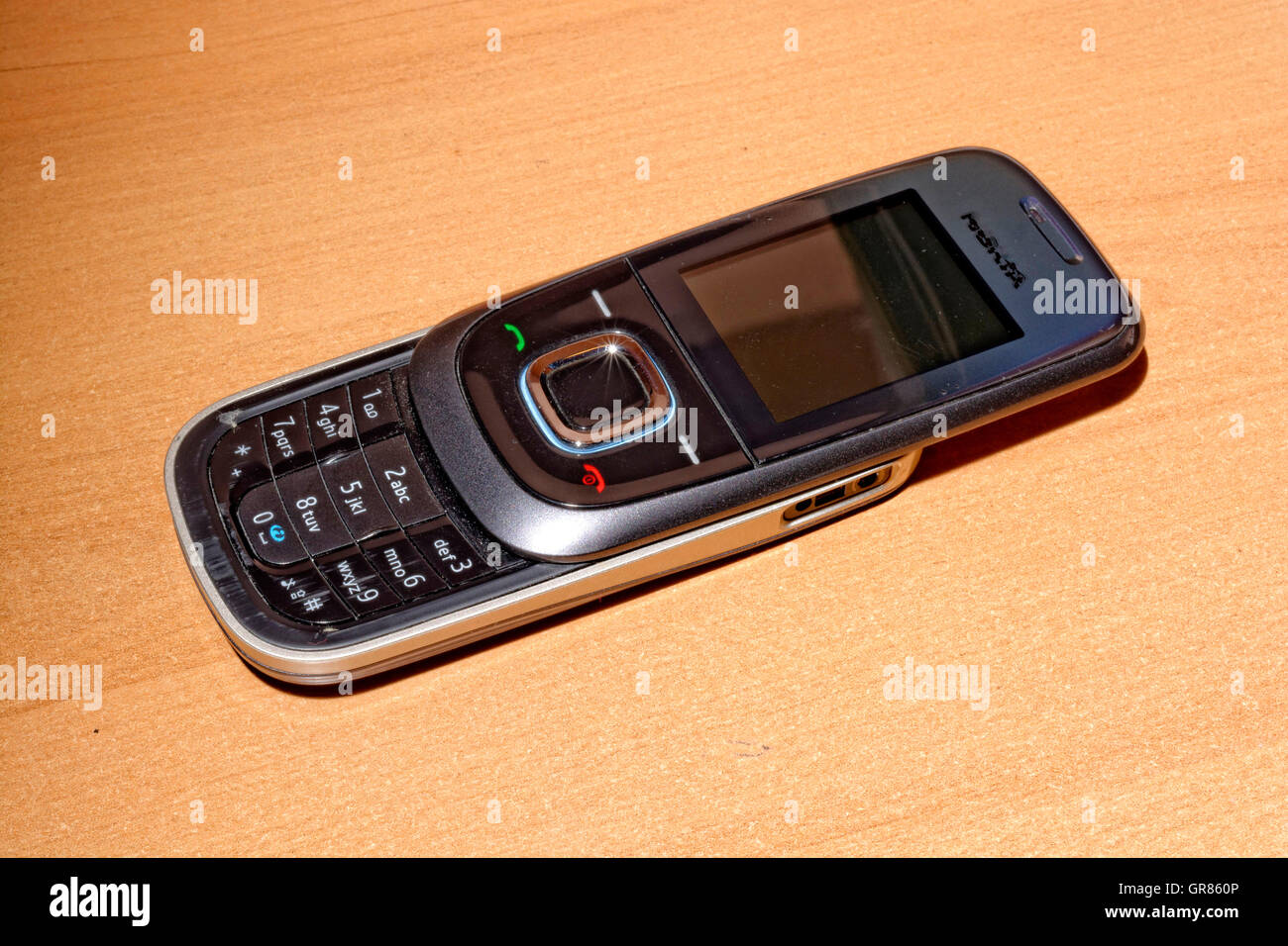 Used Old Cell Phone, Cellphone - Stock Image