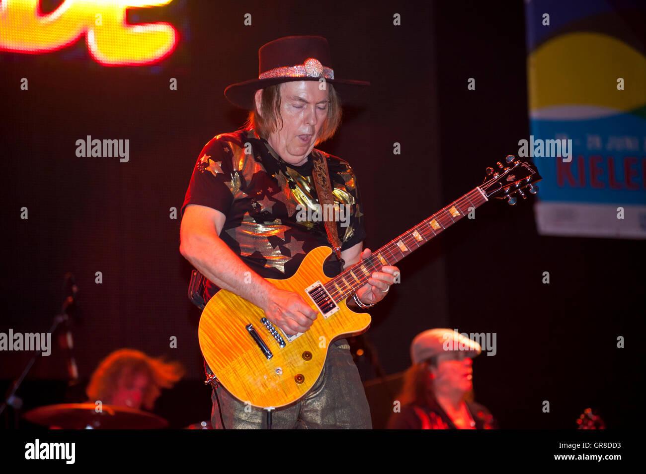 Slade In Concert On Kiel Week 2011 Stock Photo