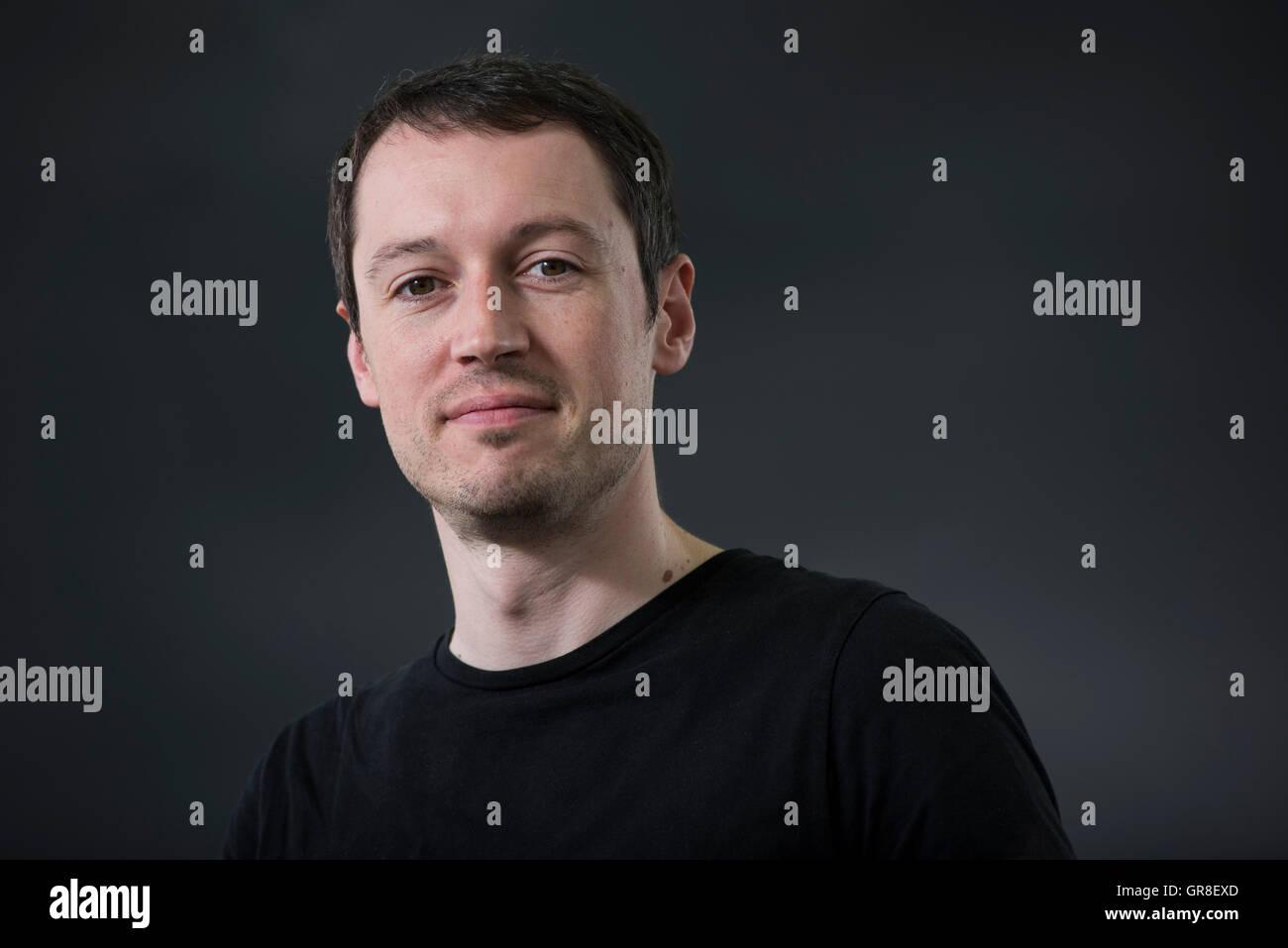 Author Keith Houston. - Stock Image