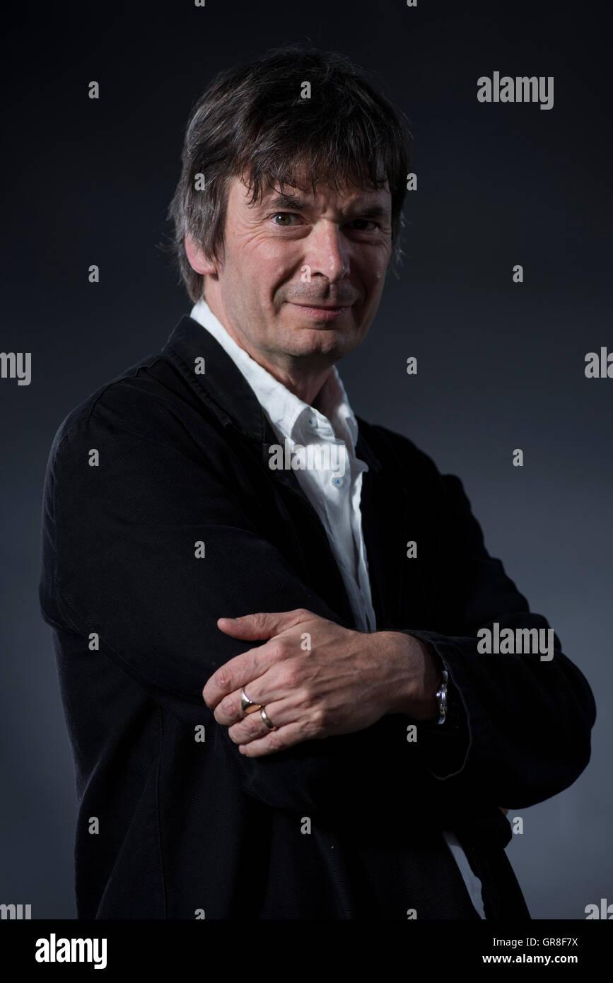 Scottish crime writer Ian Rankin OBE, DL, FRSE. - Stock Image