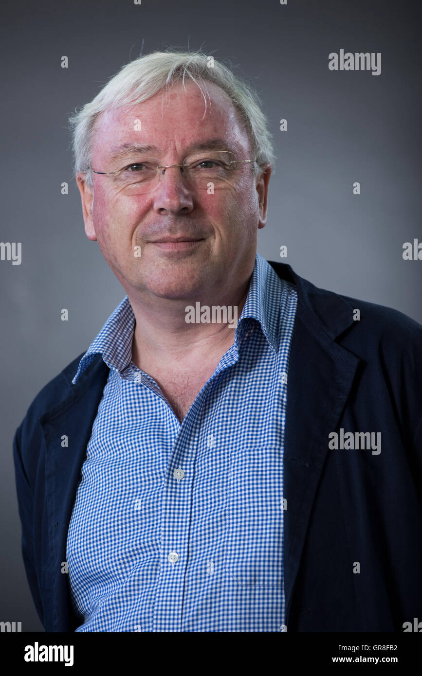 British economist and author Richard Murphy. - Stock Image