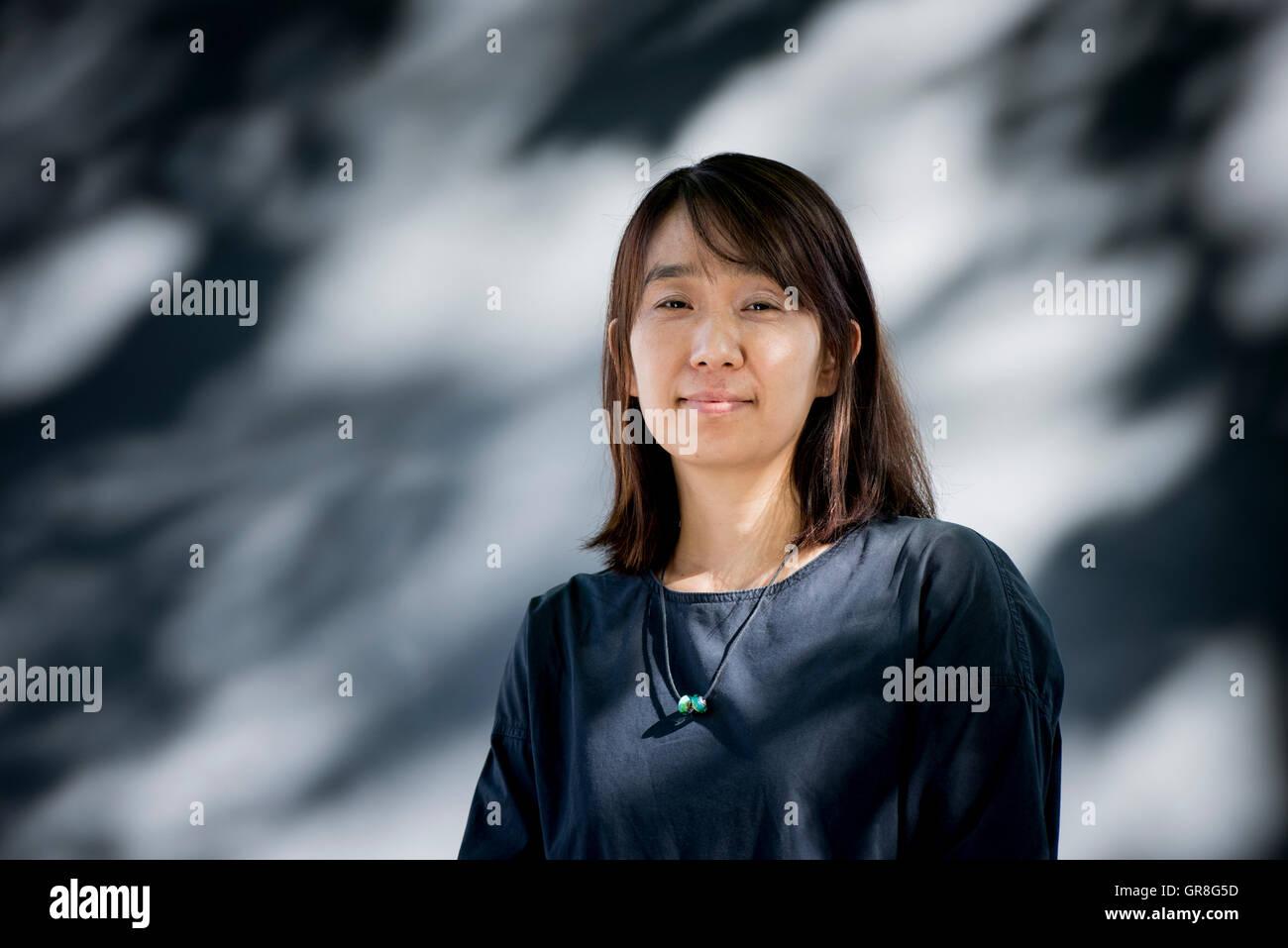 South Korean writer Han Kang Stock Photo: 117587609 - Alamy
