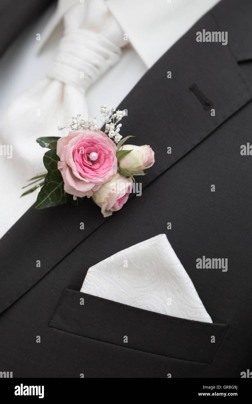 Ein Unverzichtbares Accessoire Jedes Brã Utigams - Stock Image