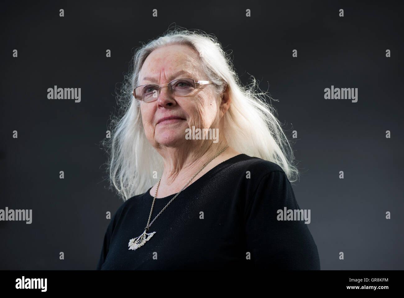 Welsh poet, playwright, editor, broadcaster, lecturer and translator Gillian Clarke. - Stock Image