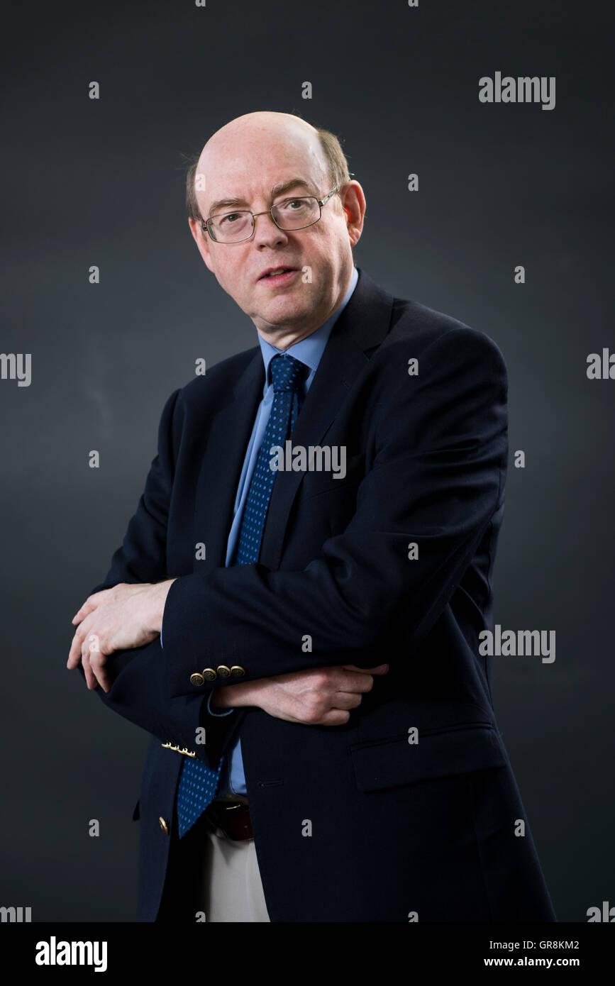 Author Ian Garden. - Stock Image