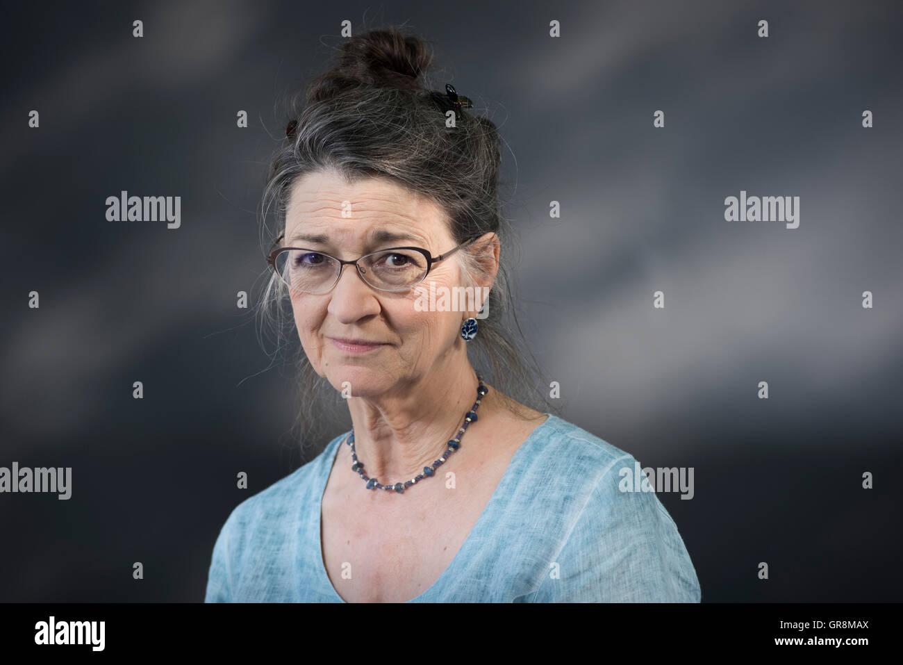 British novelist, short story writer, historian and mythographer Marina Warner. - Stock Image