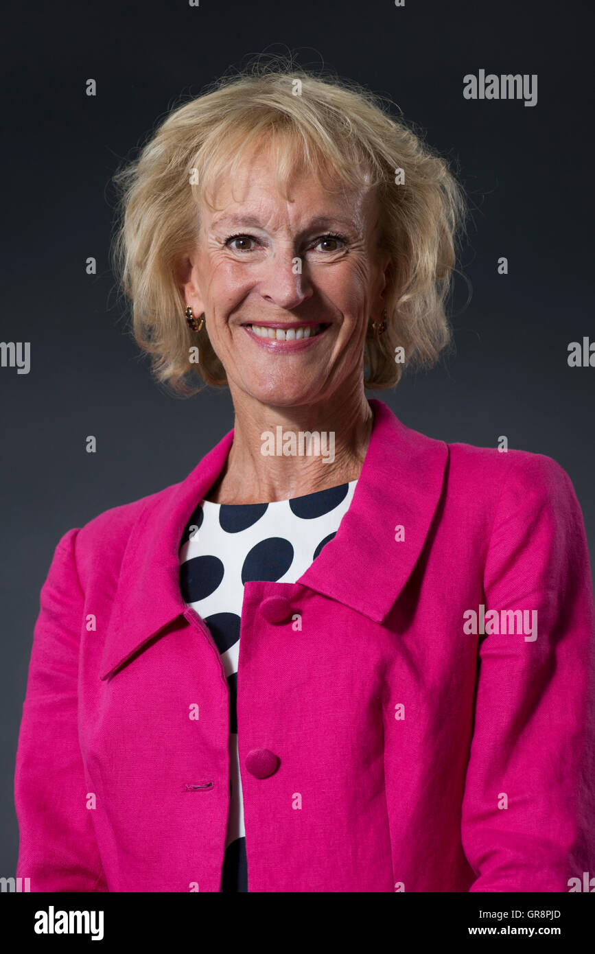 Scottish cookery and food writer Sue Lawrence. - Stock Image