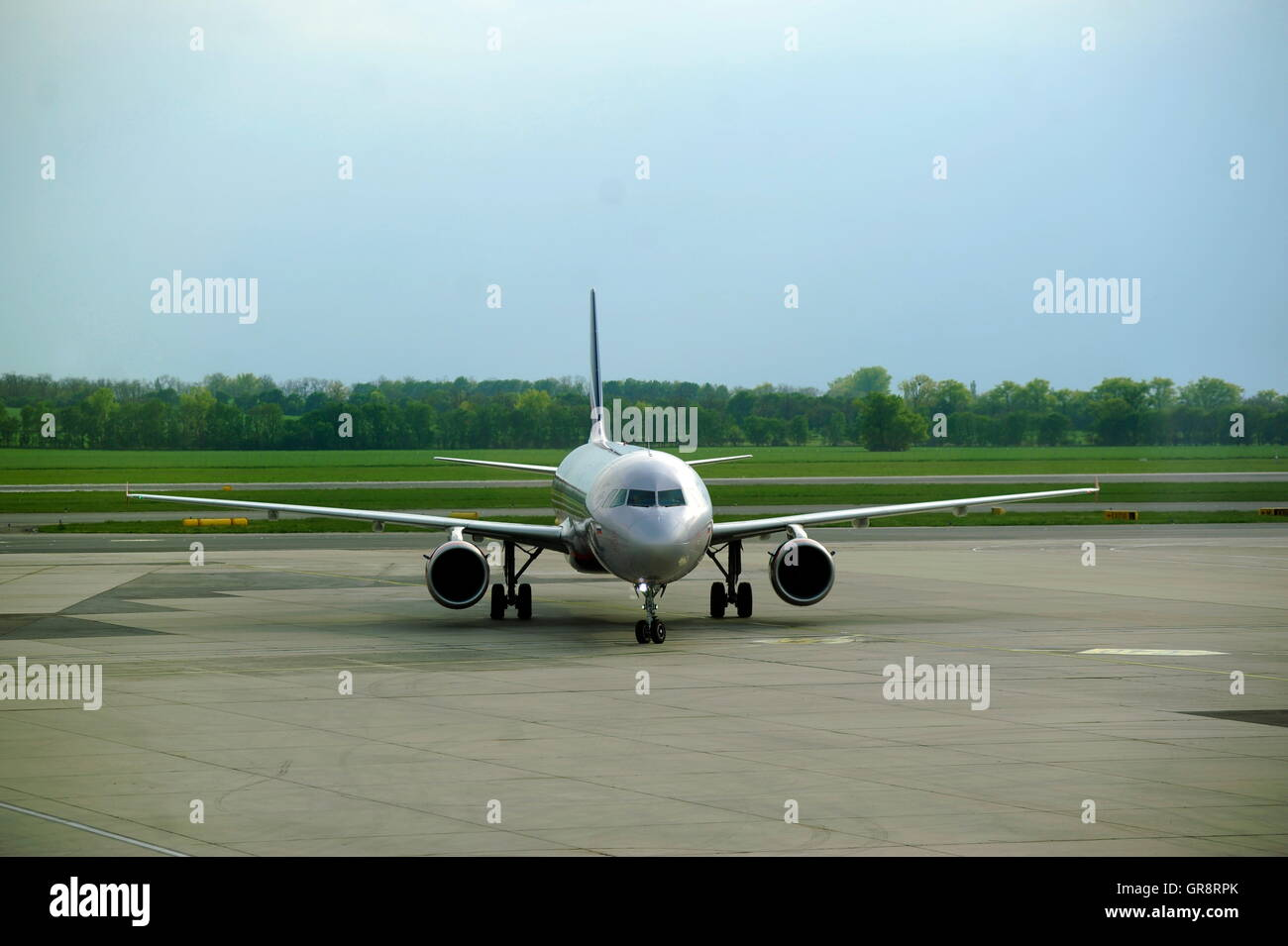 Flughafen Wien-Aeroflot - Stock Image