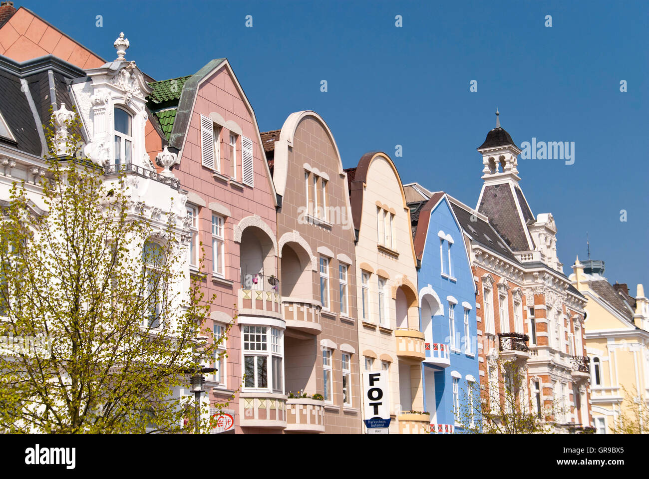 Cuxhaven In Germany - Stock Image