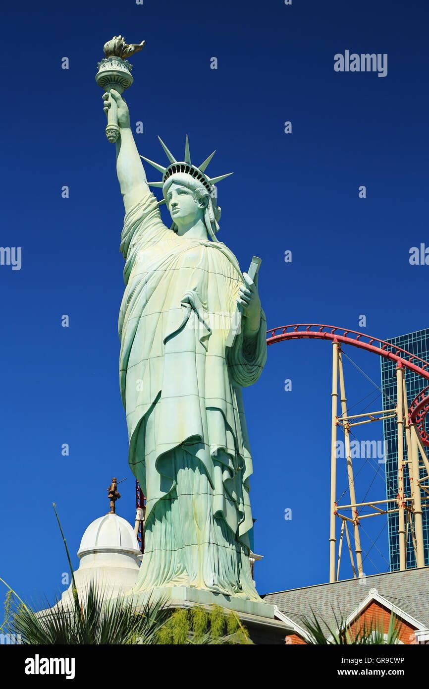 Statue Of Liberty - Stock Image