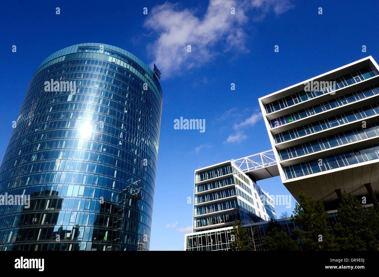 Omv Headquarters In Vienna, Austria Stock Photo: 117607858
