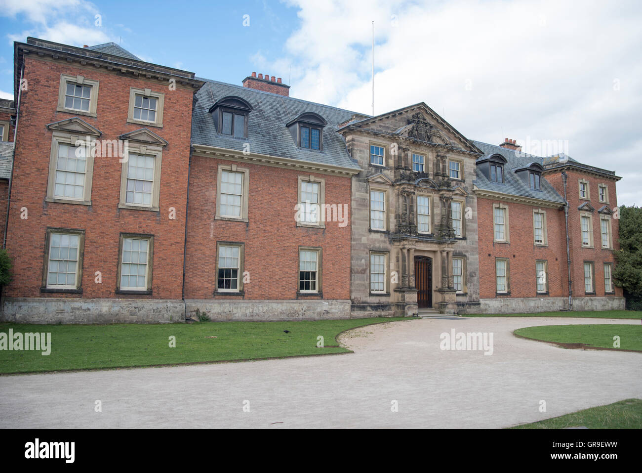 Dunham Massey Hall an English country house / stately home in  Trafford, near Altrincham, Cheshire - Stock Image