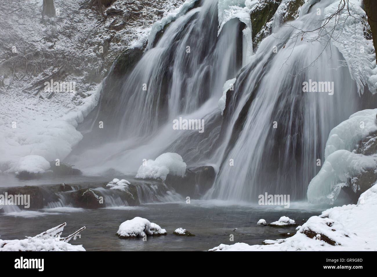 Wintery - Stock Image