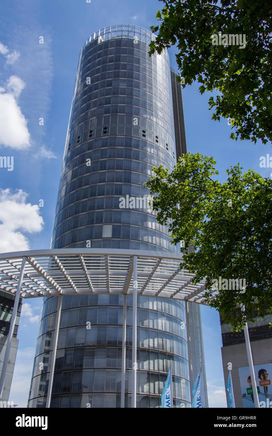 Rwe Tower Essen Stock Photo