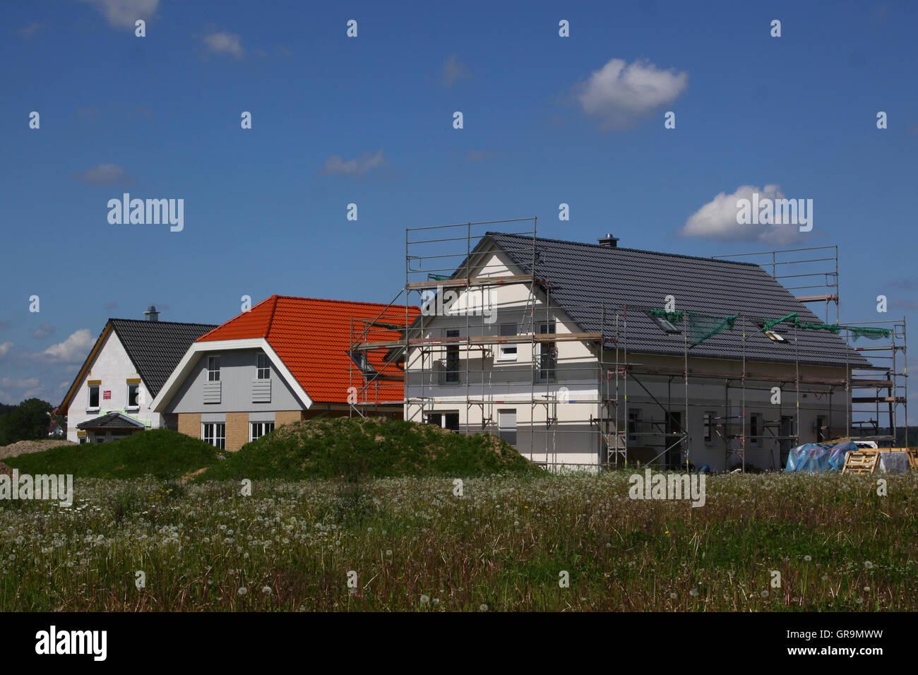 Familiy Houses - Stock Image