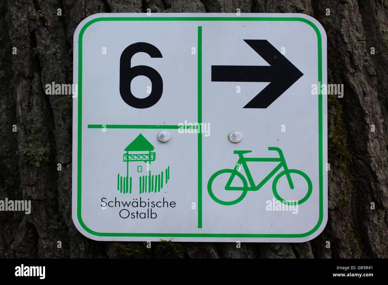Cycleway - Stock Image
