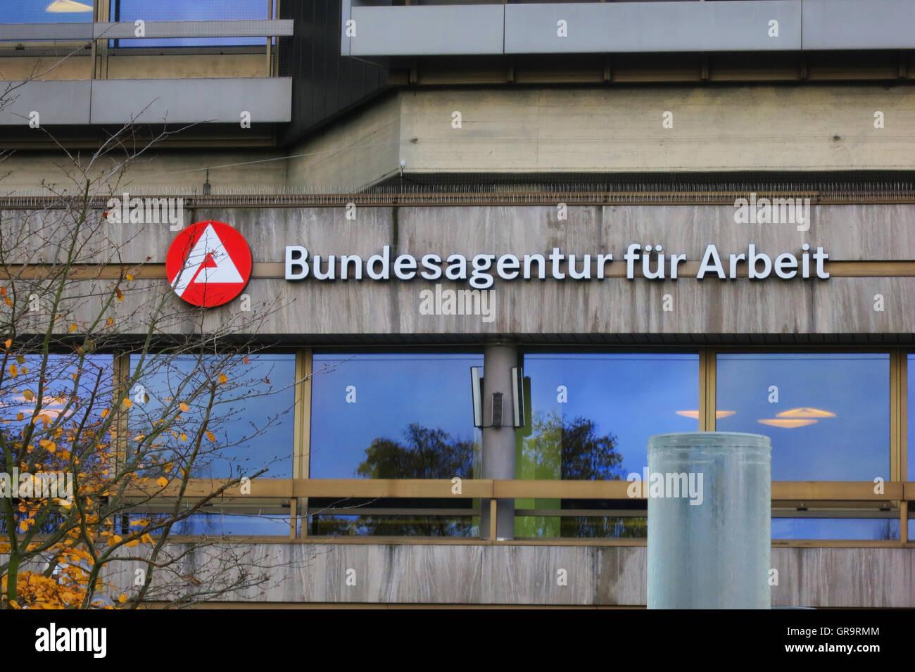 Bundesagentur Arbeit - Stock Image