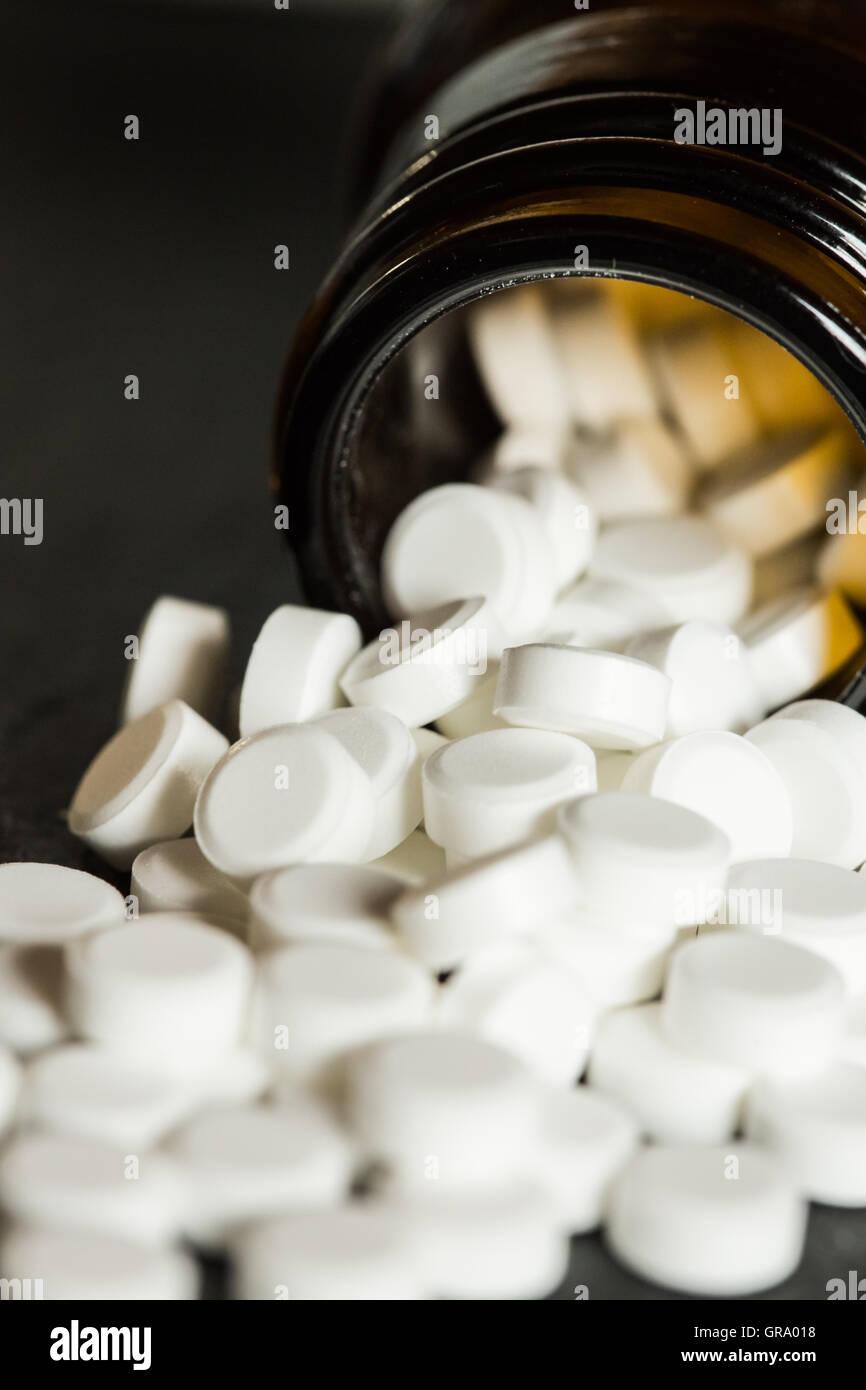 Schüssler Salts Tablets - Stock Image