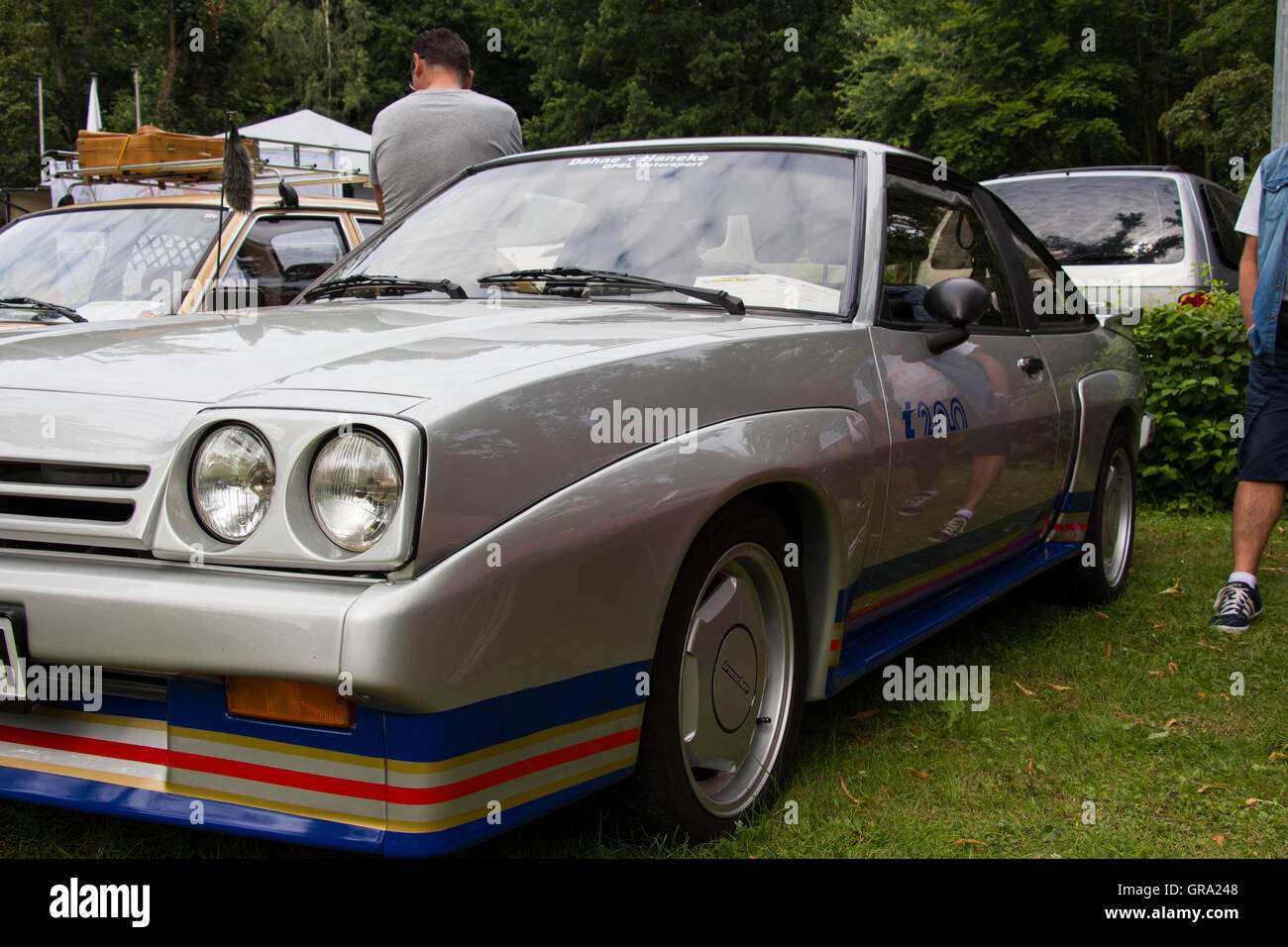 Opel Manta Stock Photo