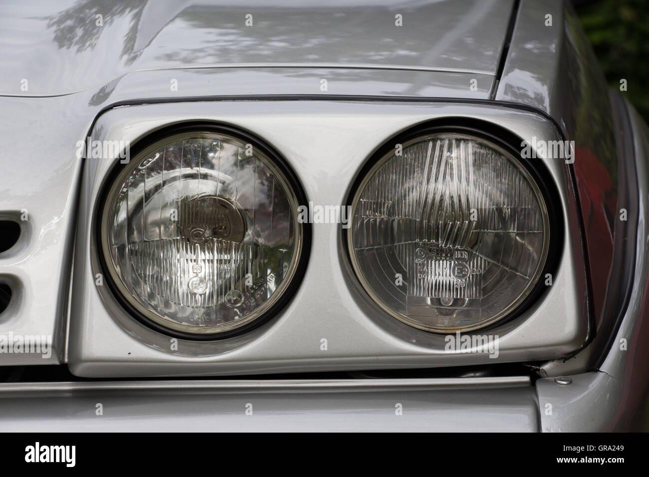 Opel Manta Stock Photo