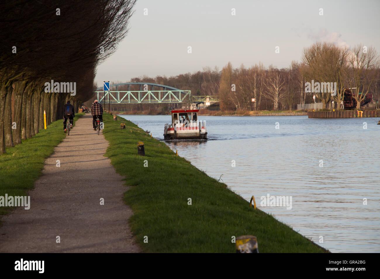Dortmund-Ems-Canal - Stock Image