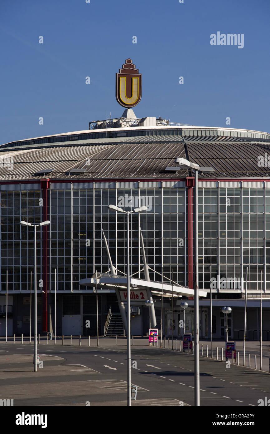 Westfalenhallen Dortmund - Stock Image