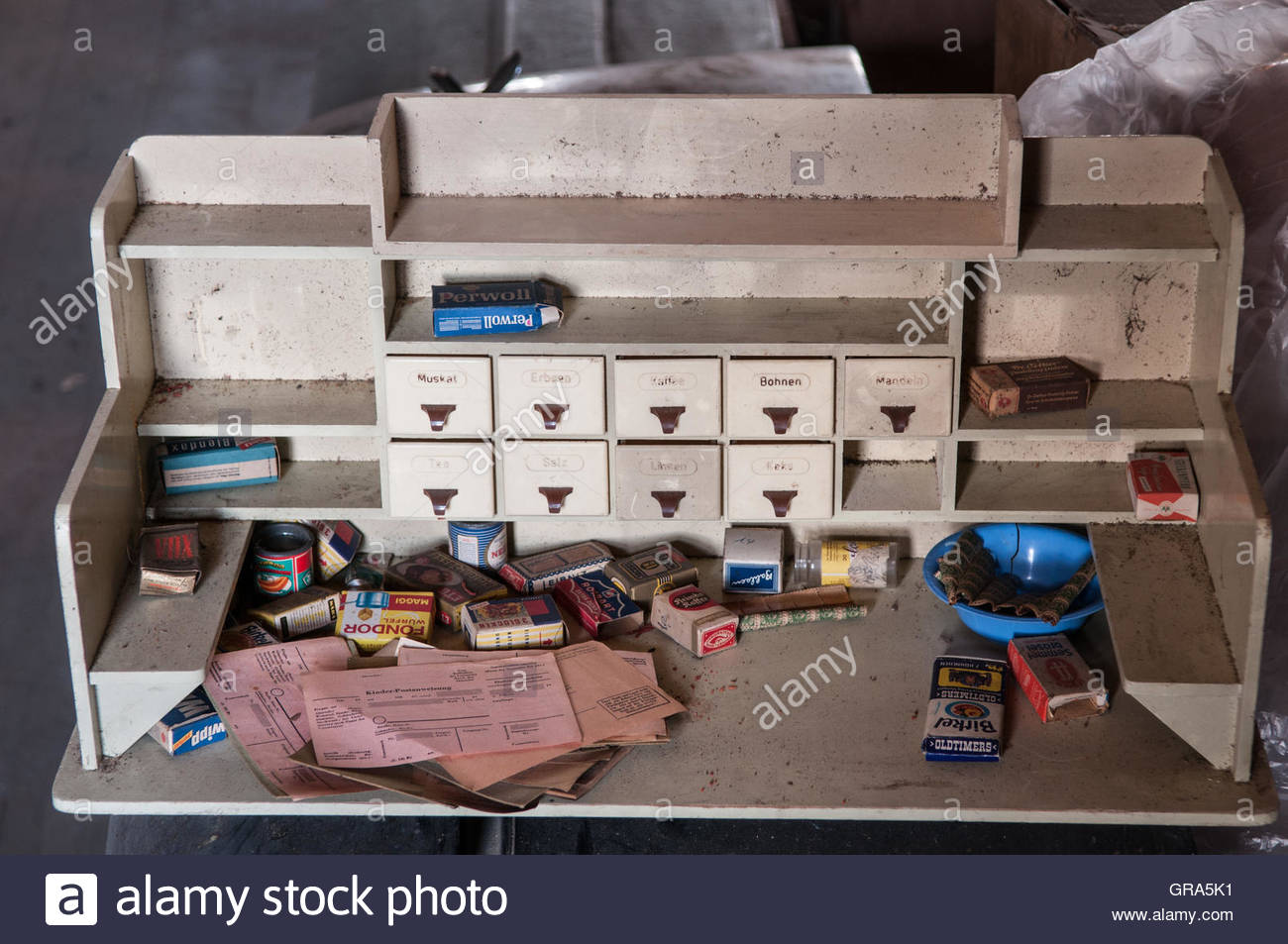 Childrens Shop On An Attic Stock Photo