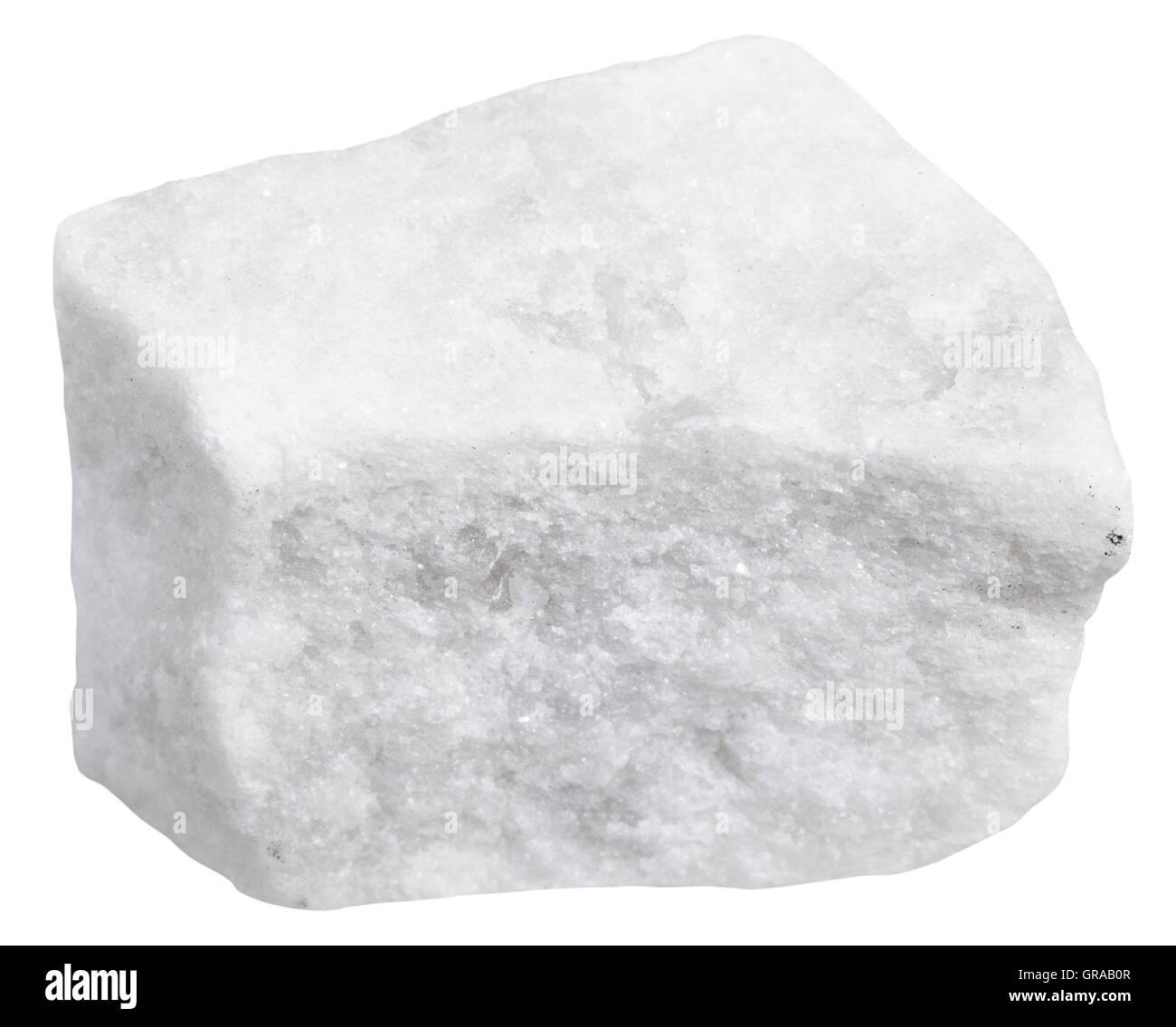 White Metamorphic Rock : Macro shooting of metamorphic rock specimens piece