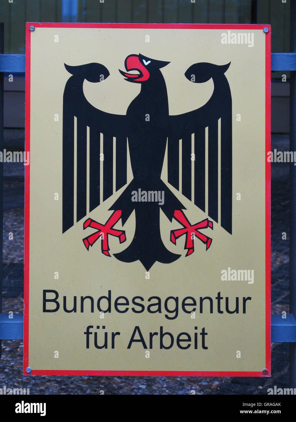 Bundesagentur Für Arbeit - Stock Image