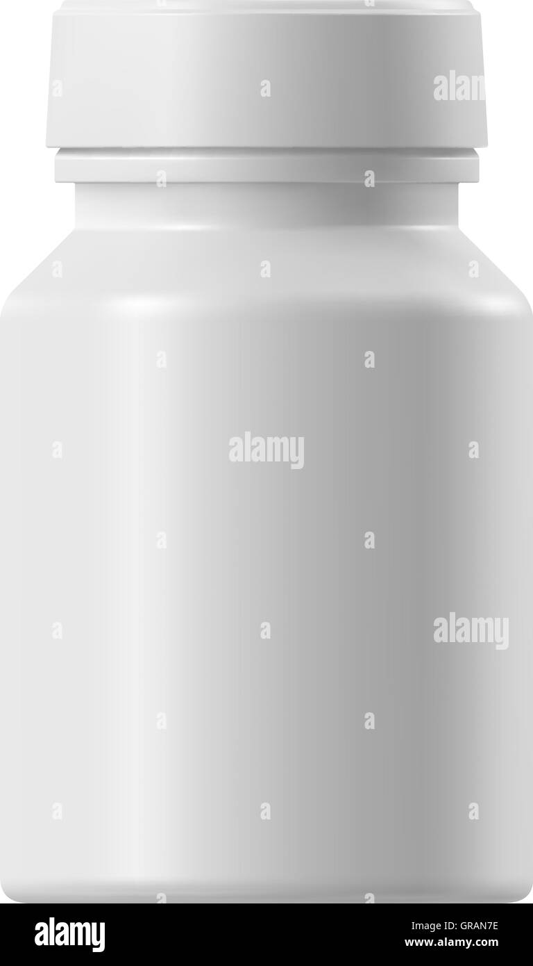 Medical container - Stock Image