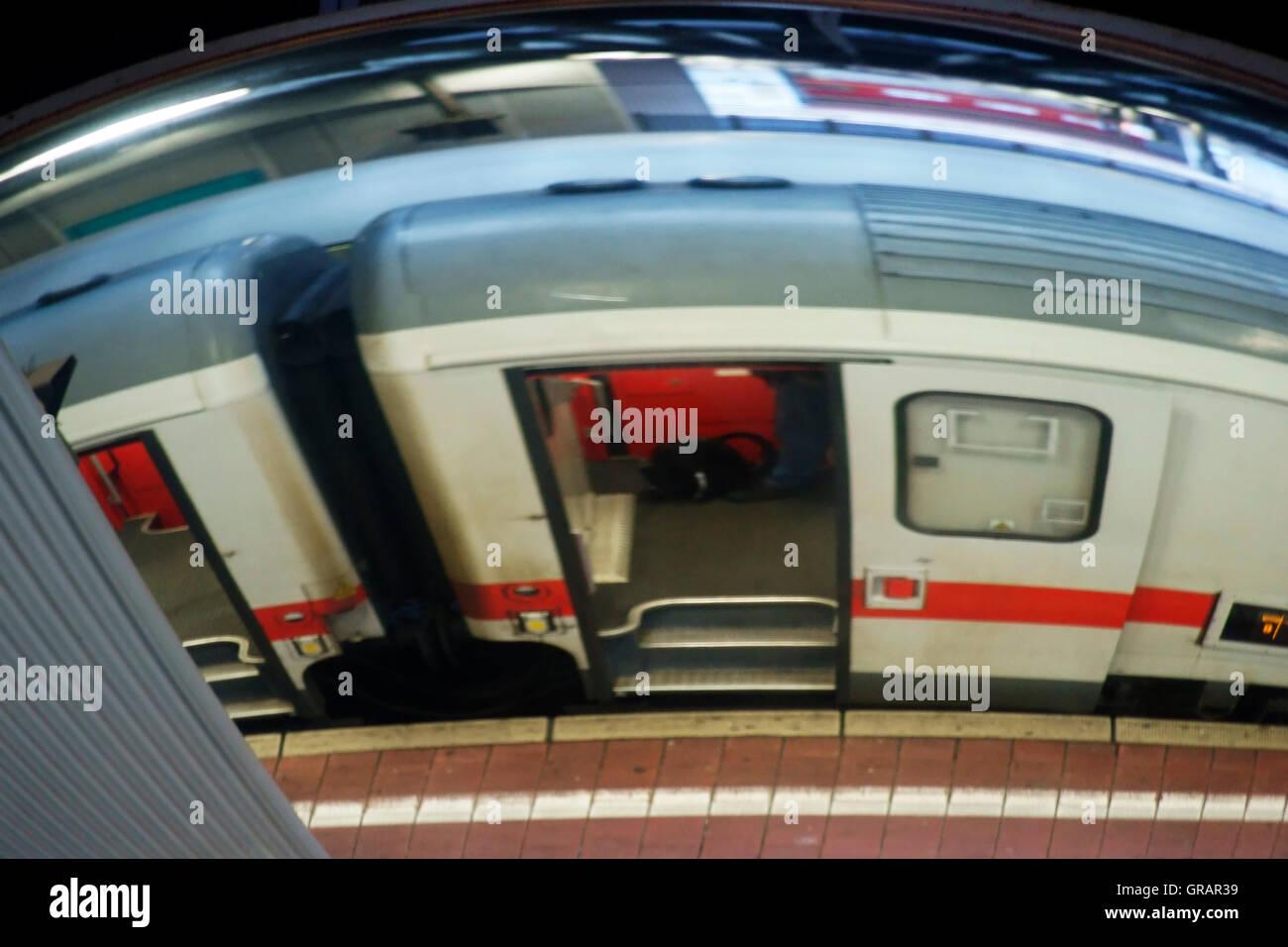 Platform Reflection - Stock Image