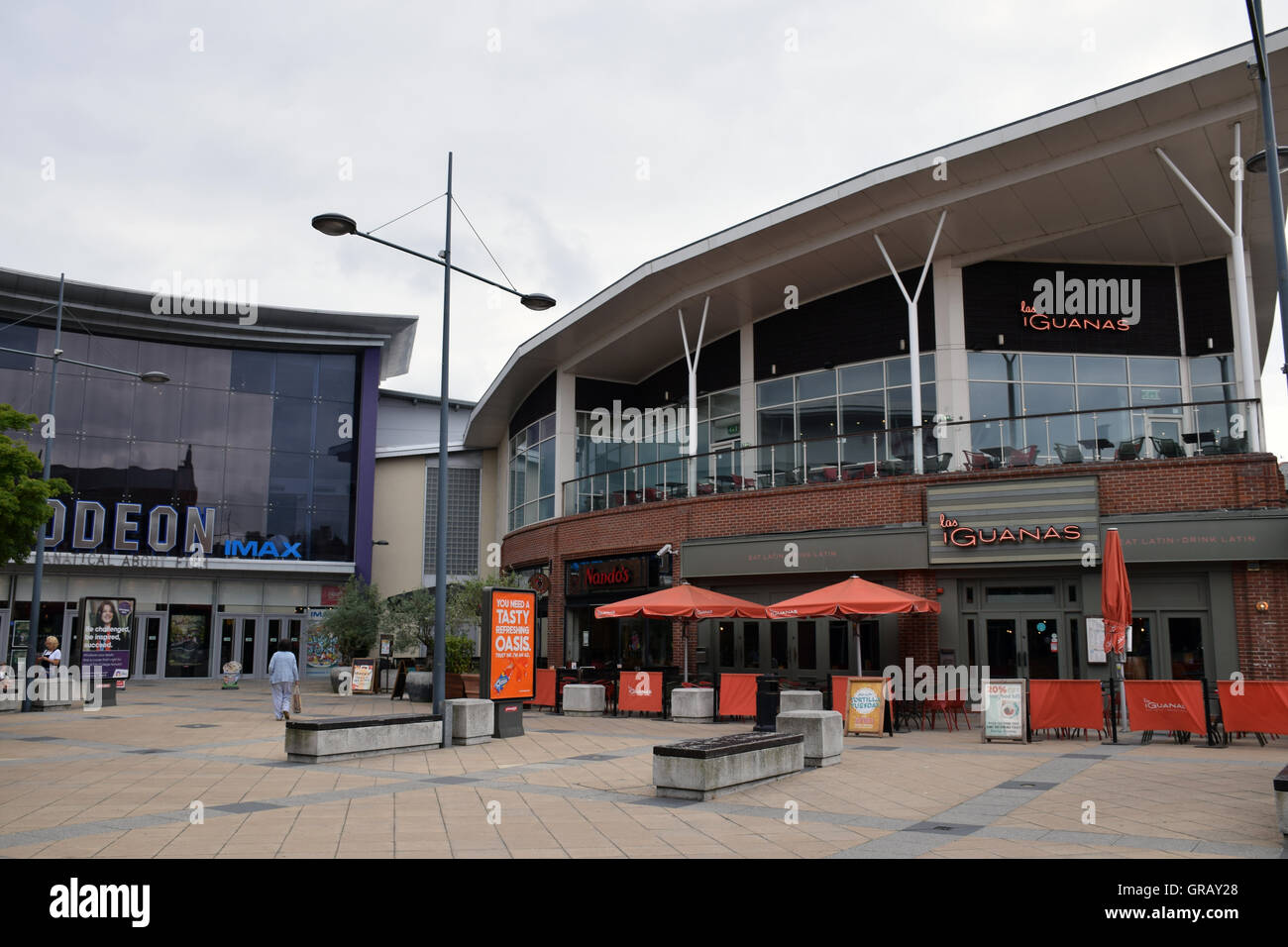 Riverside leisure complex, Norwich, Norfolk 2016 - Stock Image