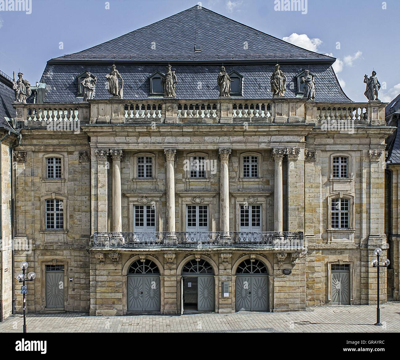 Margrave S Opera House In Bayreuth, A Unique Monument Of Baroque Theater Culture - Stock Image