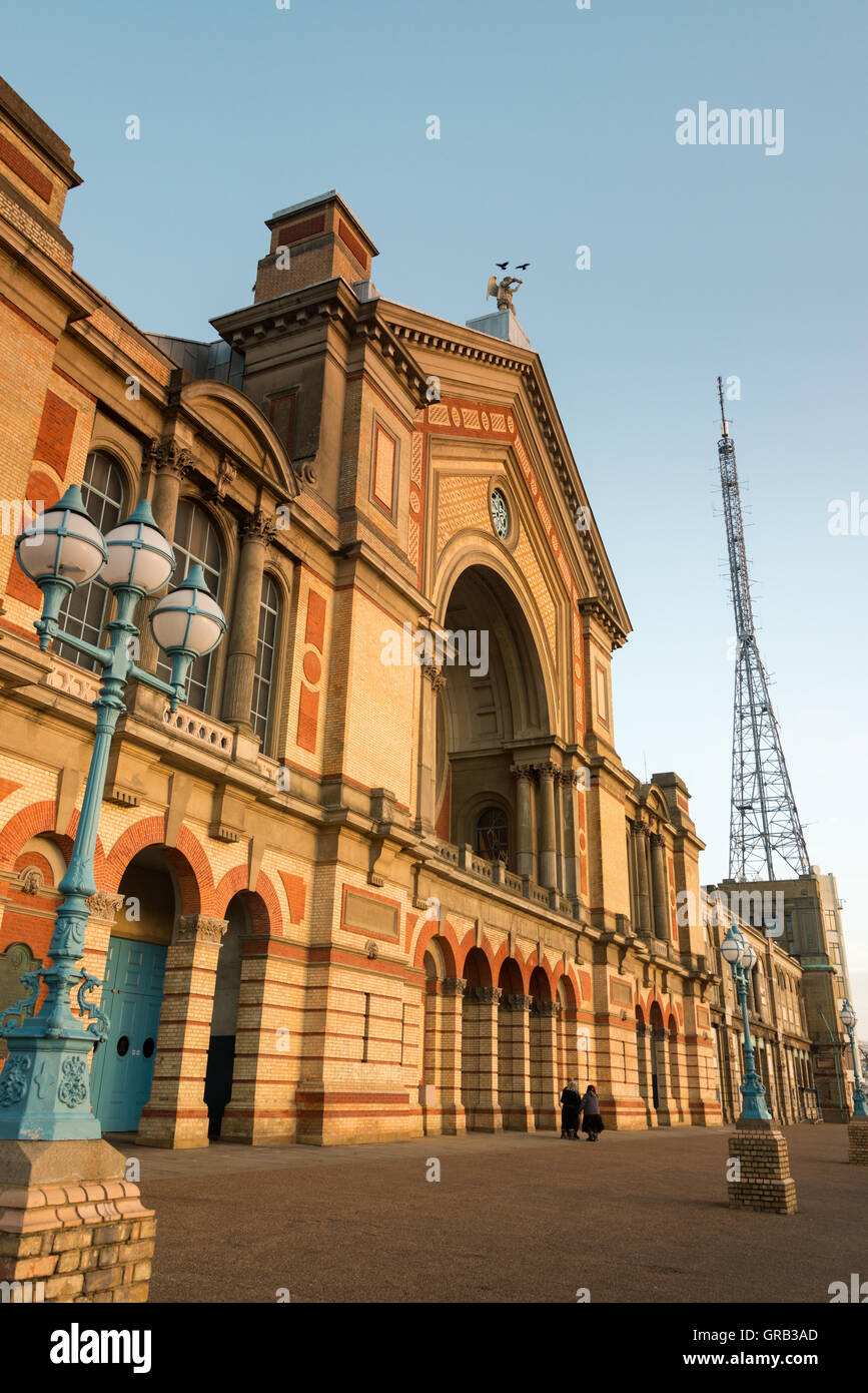 Alexandra Palace, North London, UK - Stock Image
