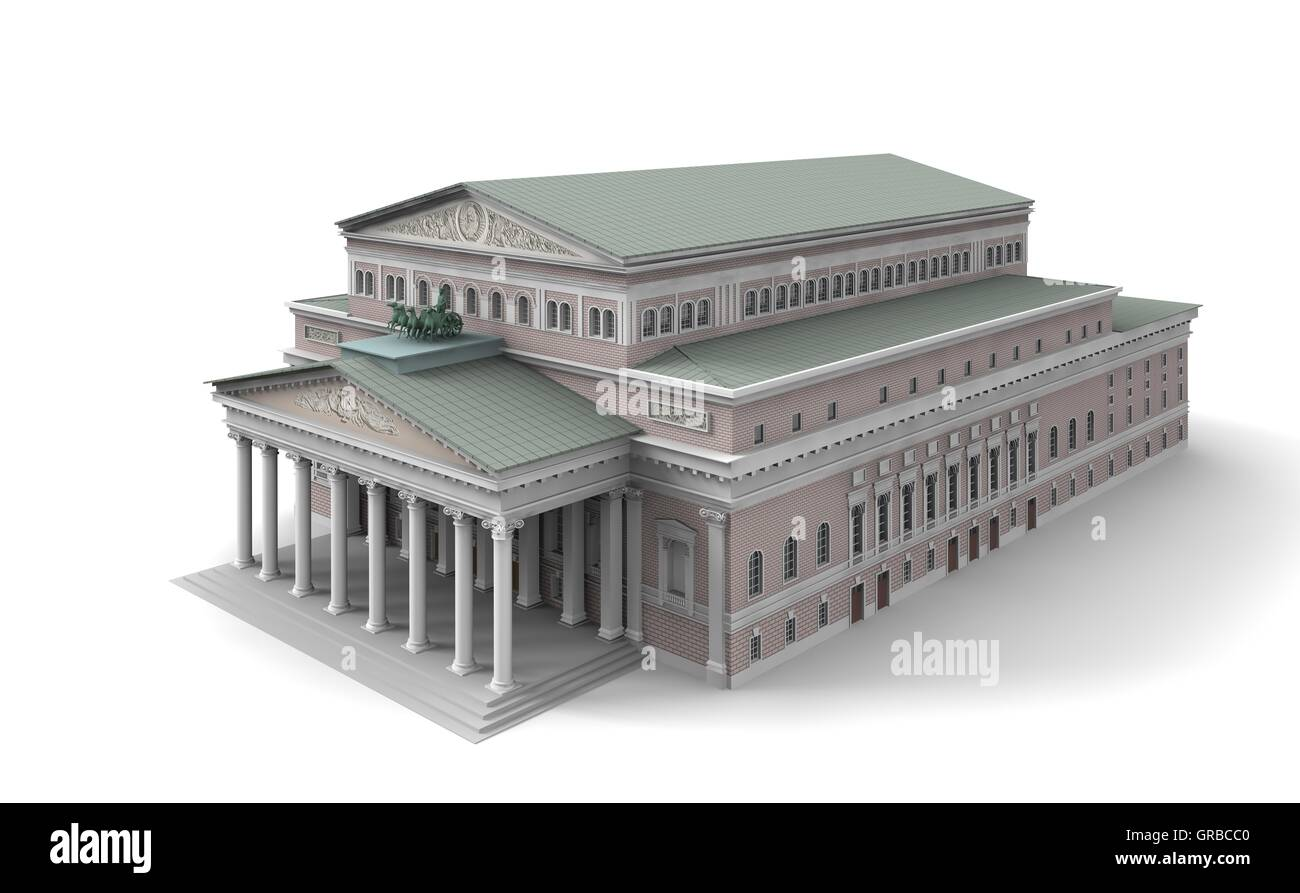 Bolshoi Theatre 4 - Stock Image