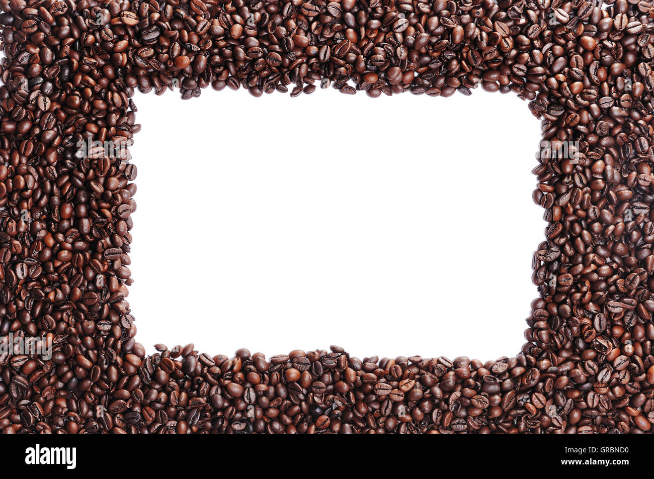 Coffee Bean Area With Window Stock Photo