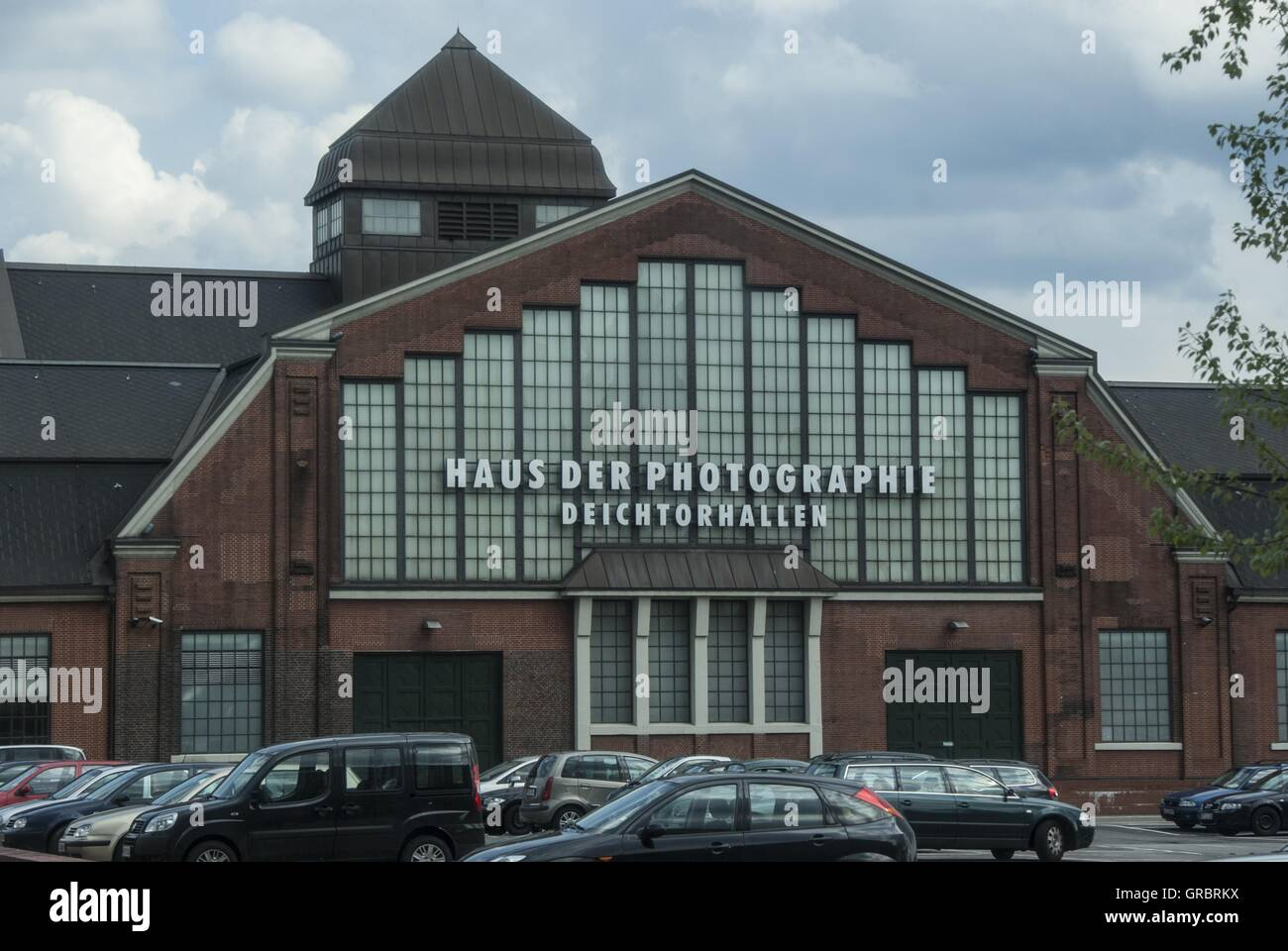 Deichtorhallen, Buildings, Exhibitions, - Stock Image