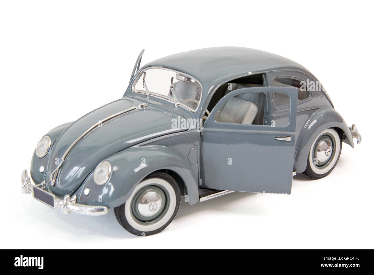 Old Beetle As Model Car - Stock Image