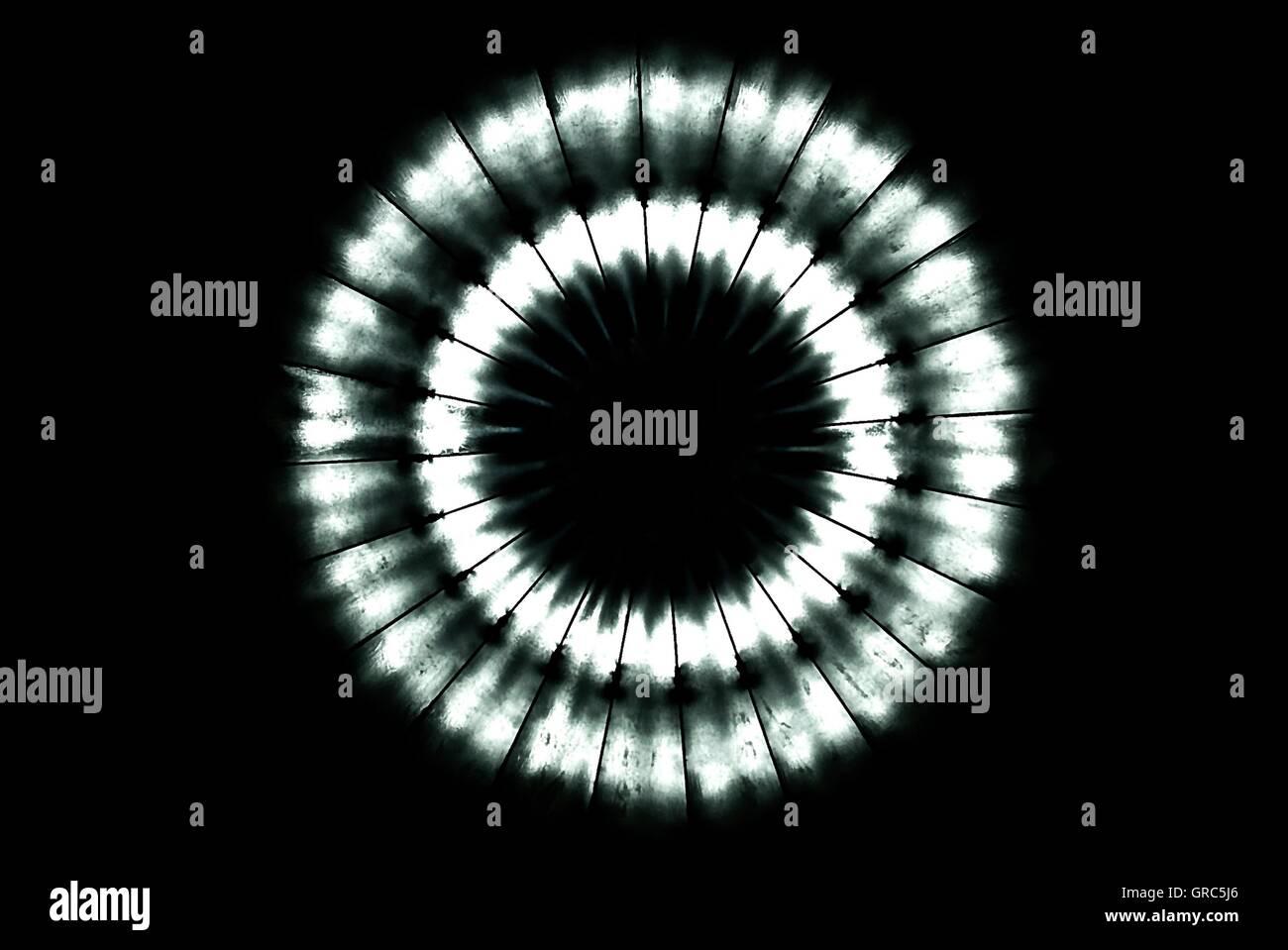 Circle Of Light - Stock Image