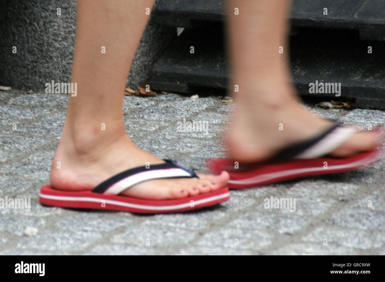 15cc2a183 Painted Toenails Stock Photos   Painted Toenails Stock Images - Alamy