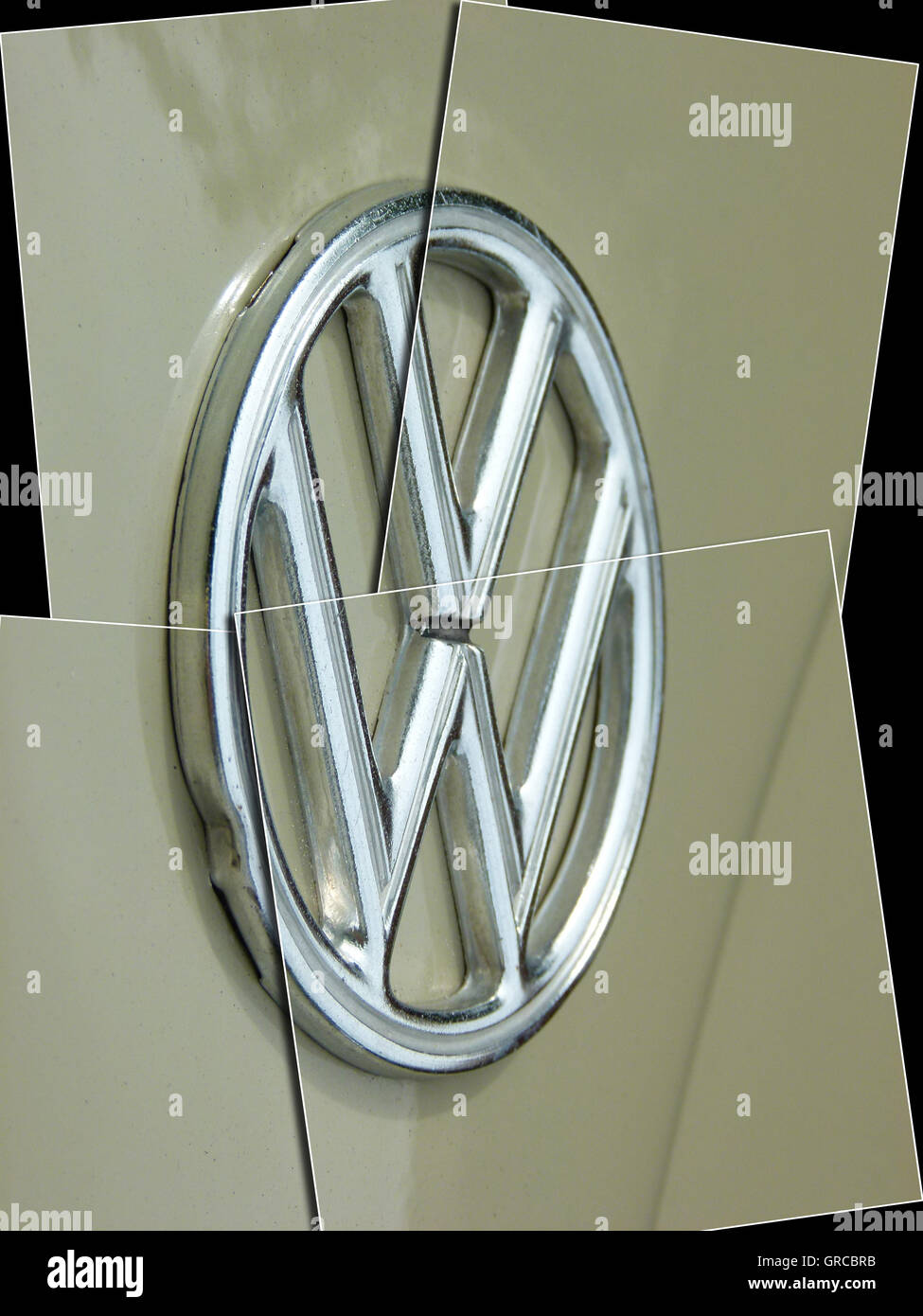 Vw Logo, Vw Affair, Crisis And Change For New Constitution, Symbol - Stock Image