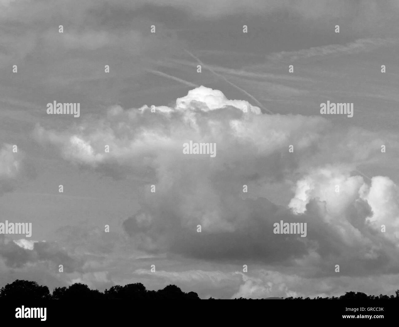 Clouds, Cumulonimbus - Stock Image