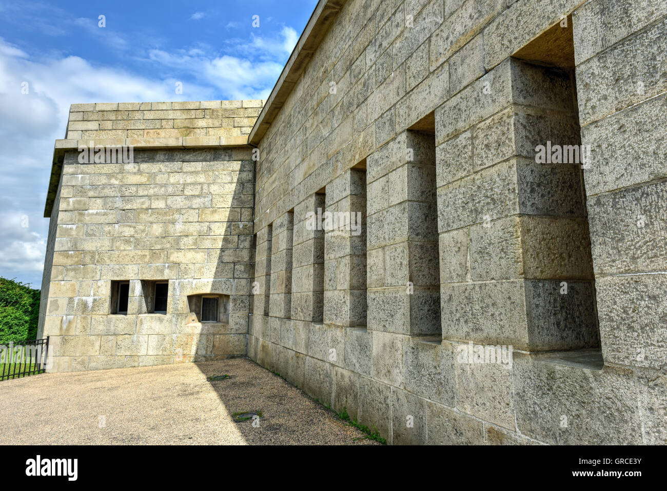Fort Trumbull In New London Connecticut Along The Atlantic Coast Built Egyptian