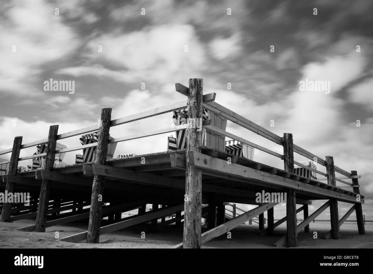 Beach Chairs - Stock Image