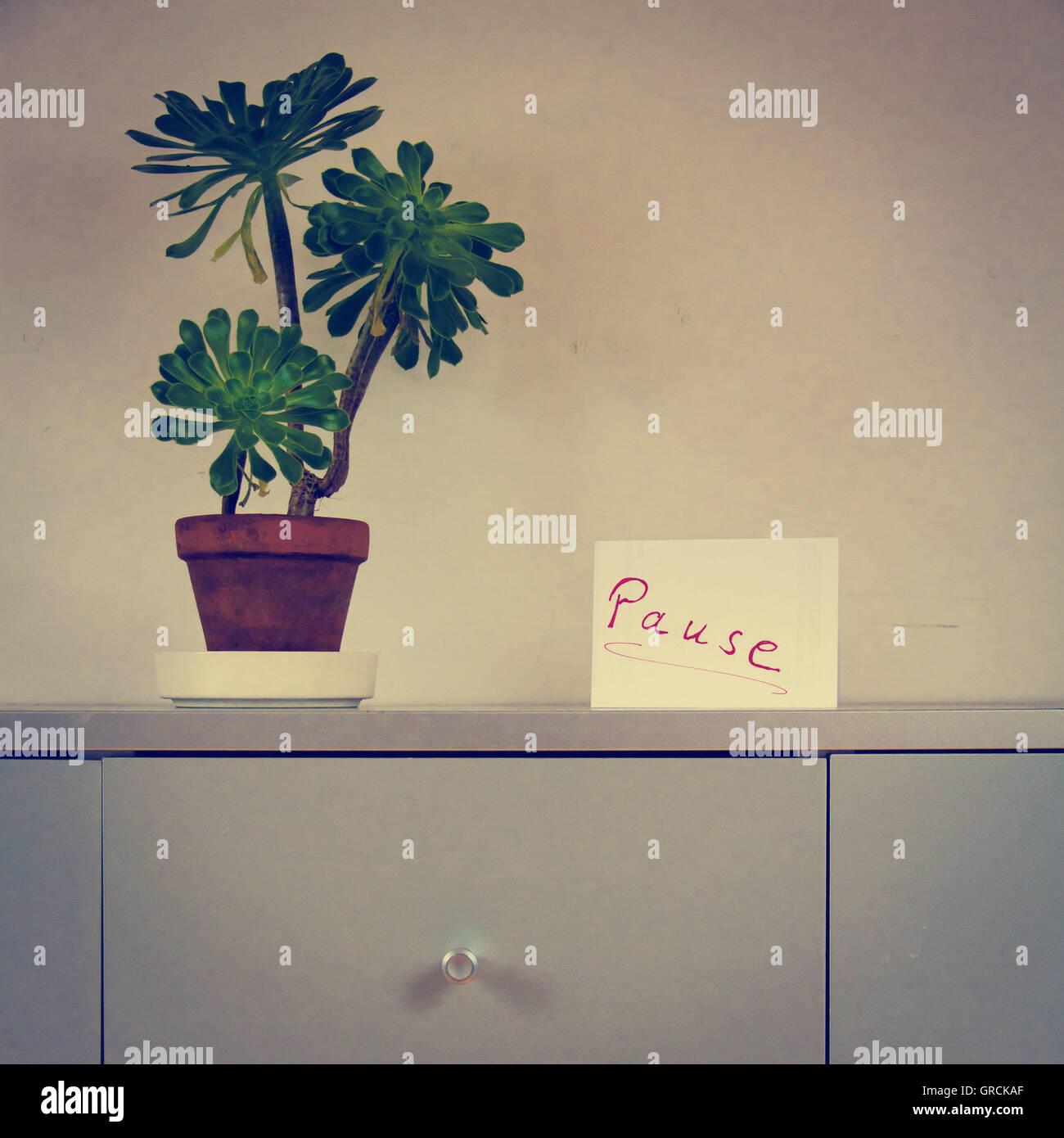 Communication, Pause, Office - Stock Image