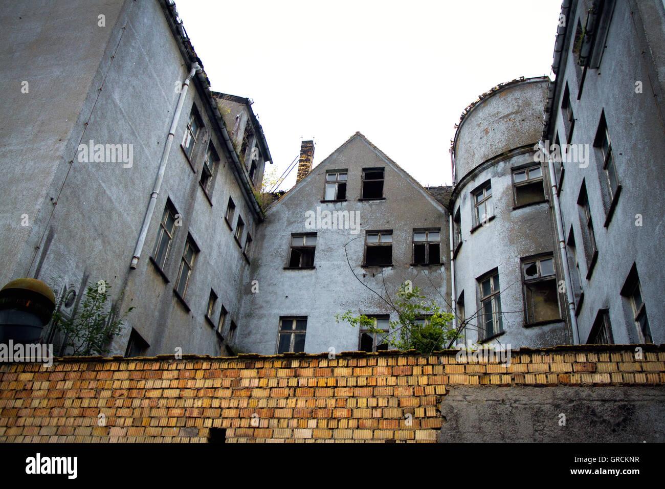 Urbanity, Old Building, Vacancy Stock Photo