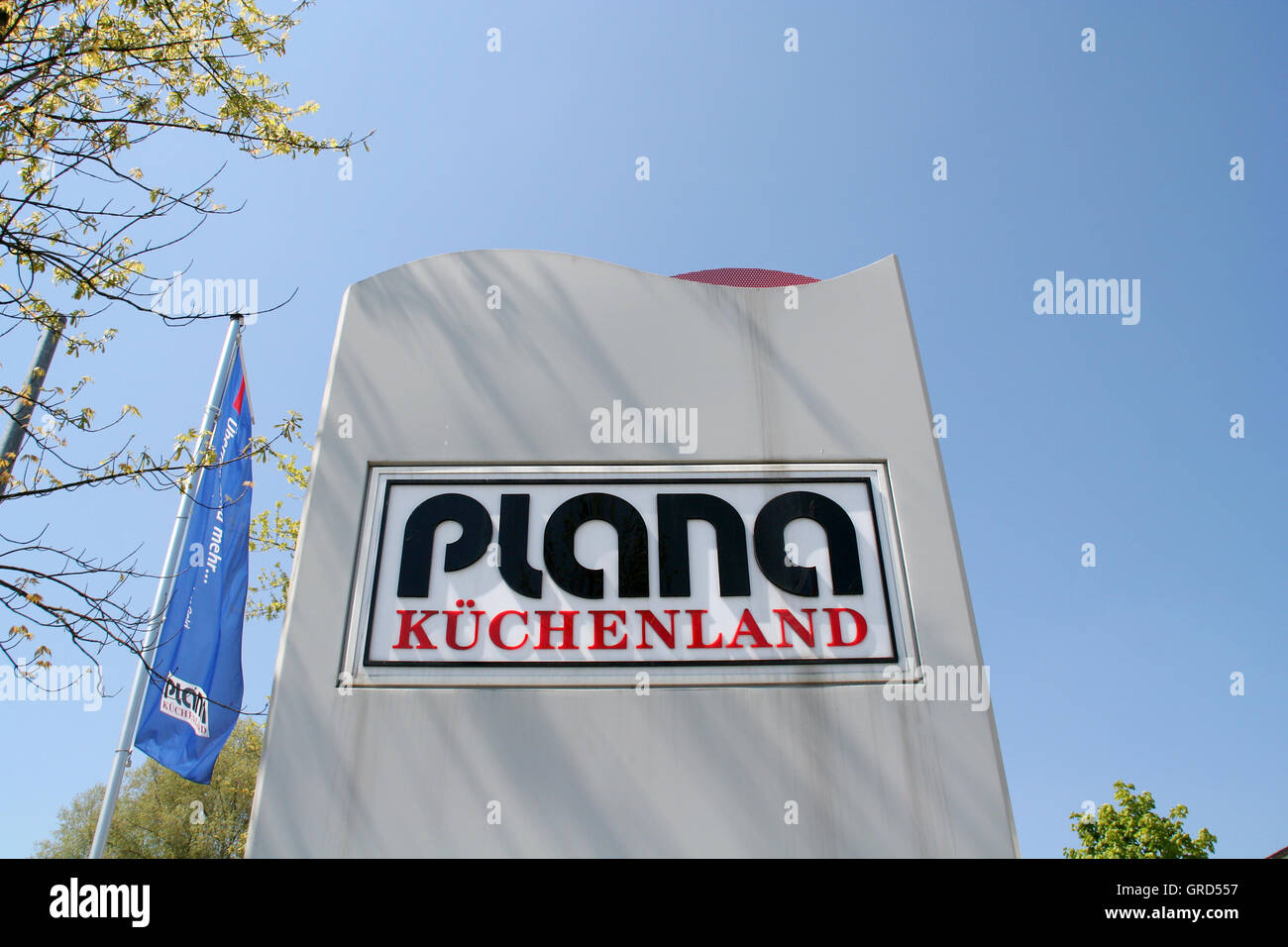 Logo Plana Kuchenland Stock Photo 117688739 Alamy