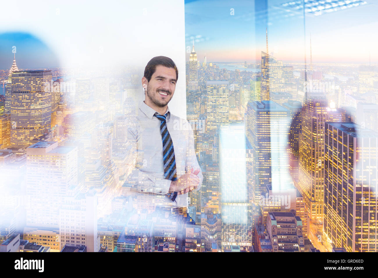 Relaxed informal business team office meeting. - Stock Image