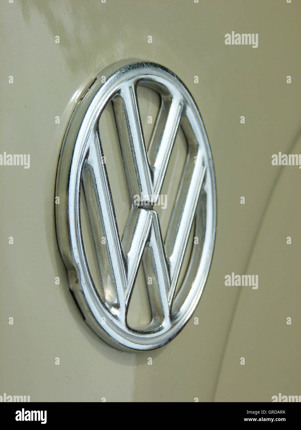 Vw Logo, Vw Affair, New Constitution Symbol - Stock Image