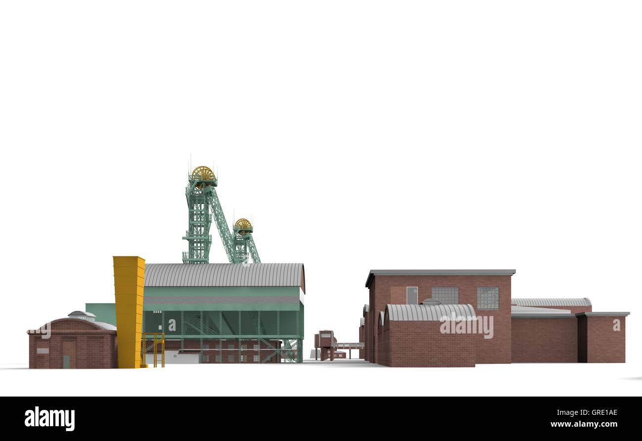 Mine Westphalia 8 - Stock Image